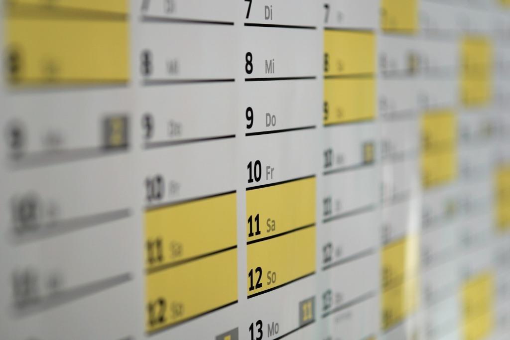 Mit kostenlosen Vorlagen kann man sich den Kalender auch ganz einfach selbstgestalten und ausdrucken. - copyright: pixabay.com