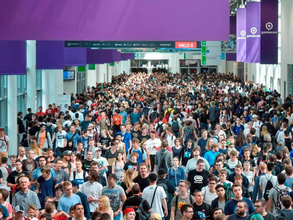 gamescom 2017 endet mit neuem Rekord: Über 350.000 Besucher bei Spielemesse in Köln! copyright: © Koelnmesse GmbH, Thomas Klerx
