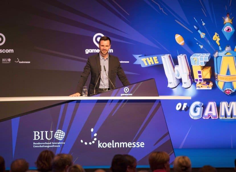 """""""Die Koelnmesse für uns genau der richtige Partner"""", so Felix Falk. copyright: CityNEWS"""