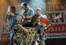 Spitzenreiter der Liste in Köln war eindeutig die Kölsch-Rock-Band Brings. copyright: CityNEWS / Alex Weis