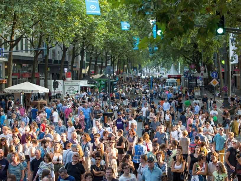 Straßensperrungen in der Kölner Innenstadt zum gamescom city festival copyright: CityNEWS