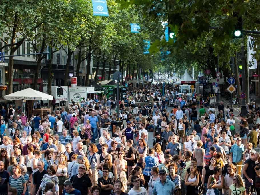 gamescom city festival sorgte für volle Plätze und Straßen - copyright: CityNEWS
