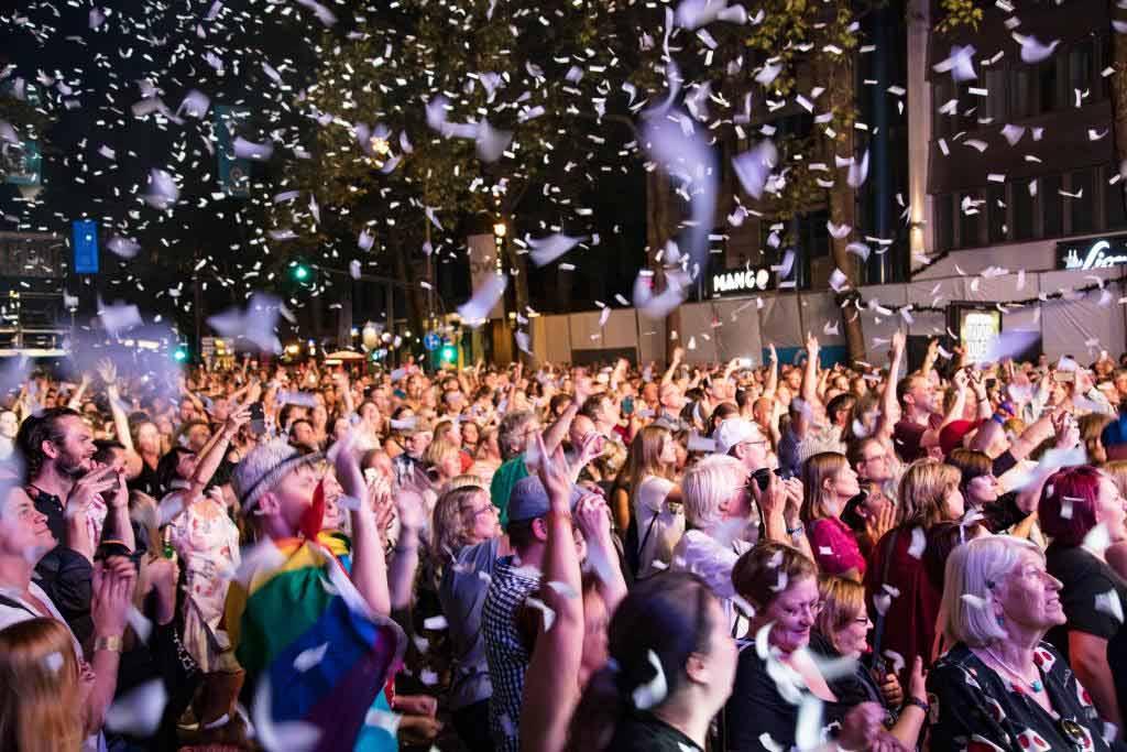 Das komplette Bühnenprogramm zum gamescom city festival 2018 copyright: CityNEWS
