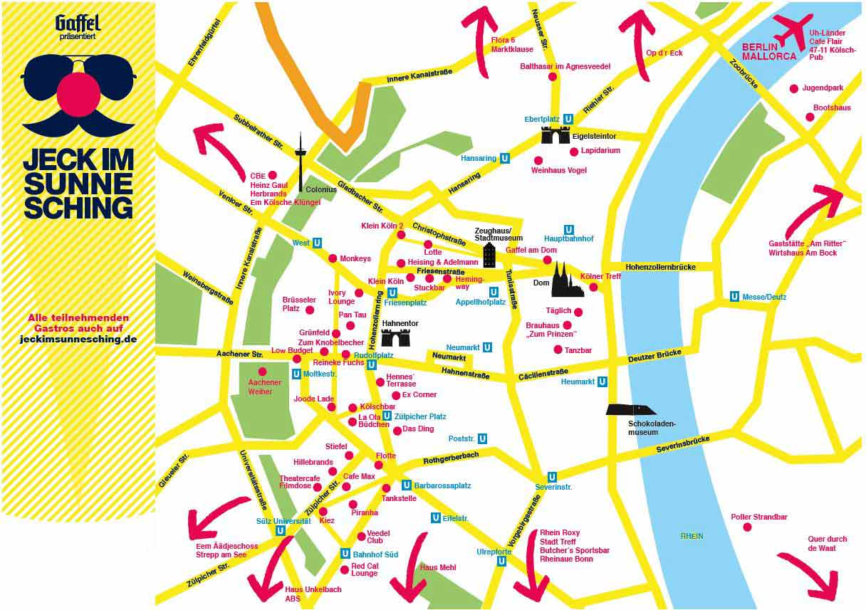 Programm Und Alle Infos Zu Jeck Im Sunnesching 2017 In Köln Und Bonn