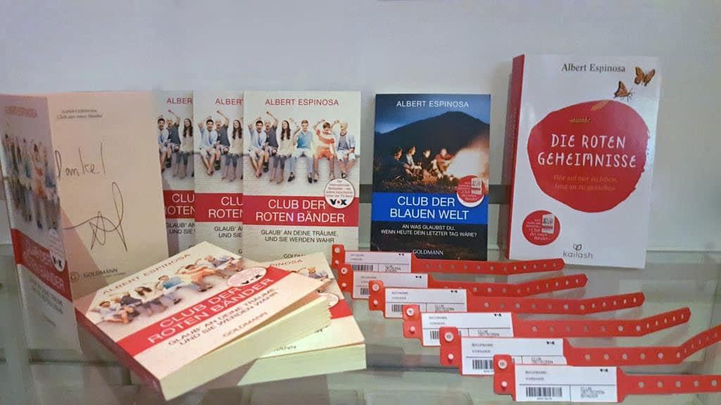 Auch die Bücher von Albert Espinosa sind ein voller Erfolg. - copyright: CityNEWS