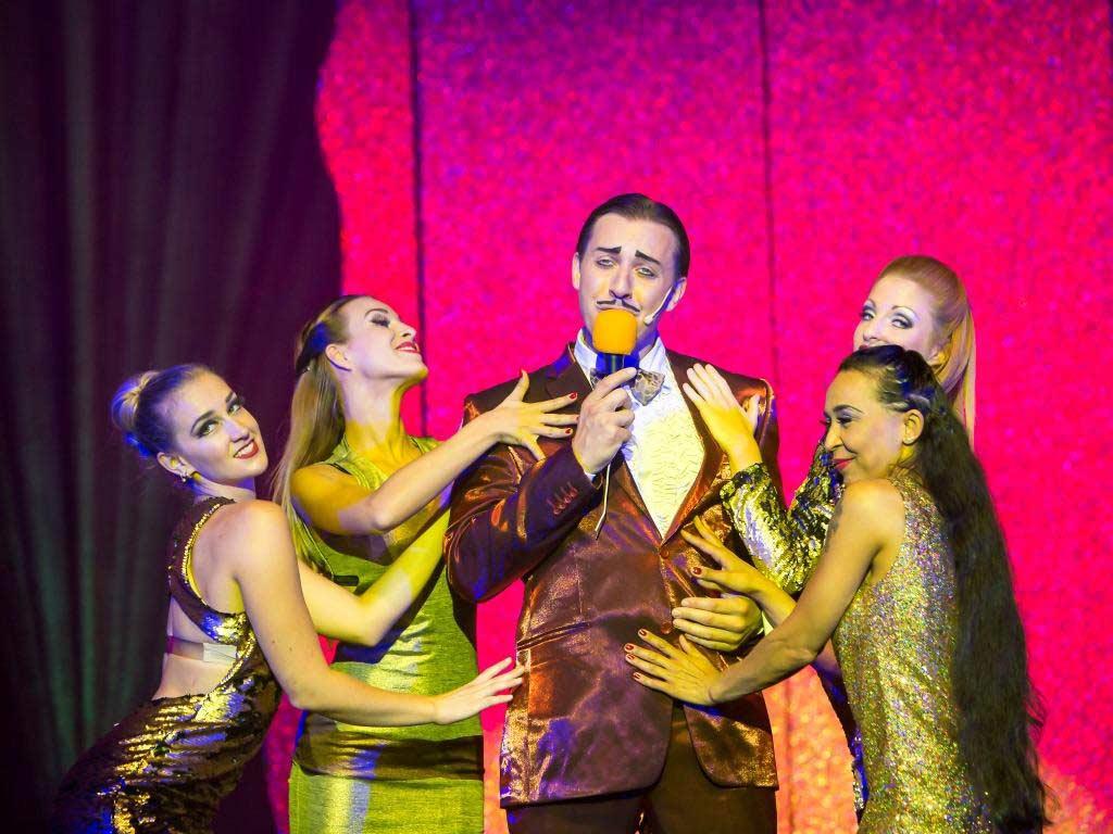 Glitter, Glamour und Comedy im GOP Varieté-Theater Bonn - copyright: Alexander Dacos