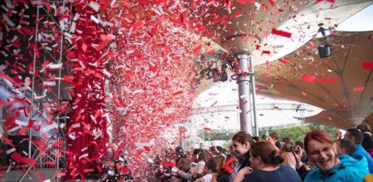 Programm am Kölner Tanzbrunnen in Deutz copyright: CityNEWS / Alex Weis
