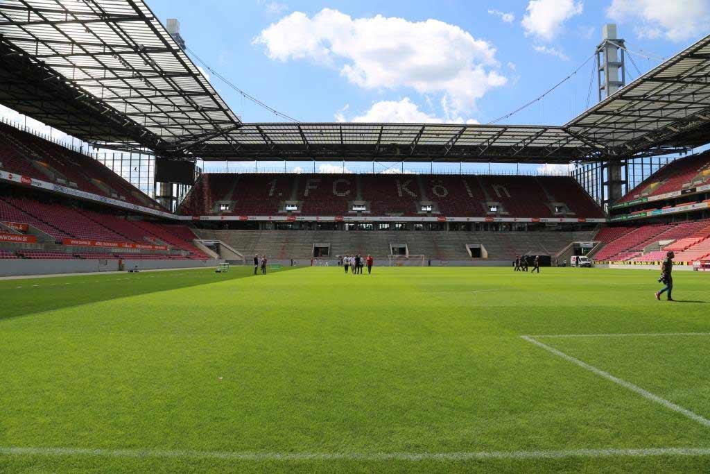 """Die Stadionführungen sind ein """"Muss"""" für alle Fans des 1. FC Köln. - copyright: CityNEWS / Alex Weis"""