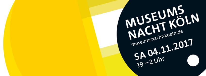 Eintrittspreise zur Museumsnacht 2017 in Köln