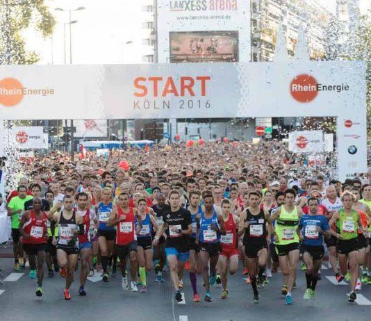 Beim Livestream ist man immer hautnah dabei! copyright: Norbert Wilhemi / Köln Marathon