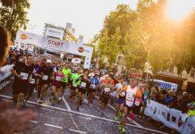 Start des Köln Marathon 2017 ist in Deutz - copyright: Köln Marathon / Jan Drexler