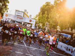 42,195 Kilometer geht es kreuz und quer durch die Domstadt. copyright: Köln Marathon / Jan Drexler