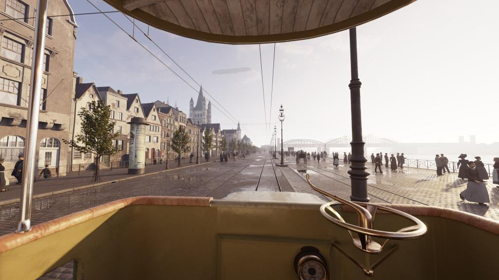 Ab September auf Zeitreise durch das Köln des 20. Jahrhundert - copyright: TimeRide GmbH