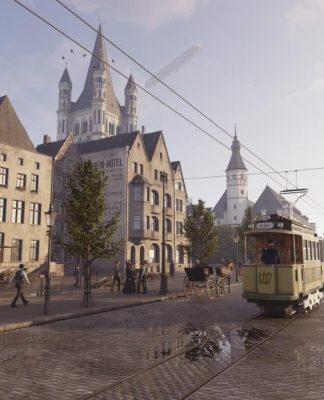 Ein Blick ins alte Köln: Virtuelle Zeitreisen sind ab 30.09.2017 für alle möglich! - copyright: TimeRide GmbH