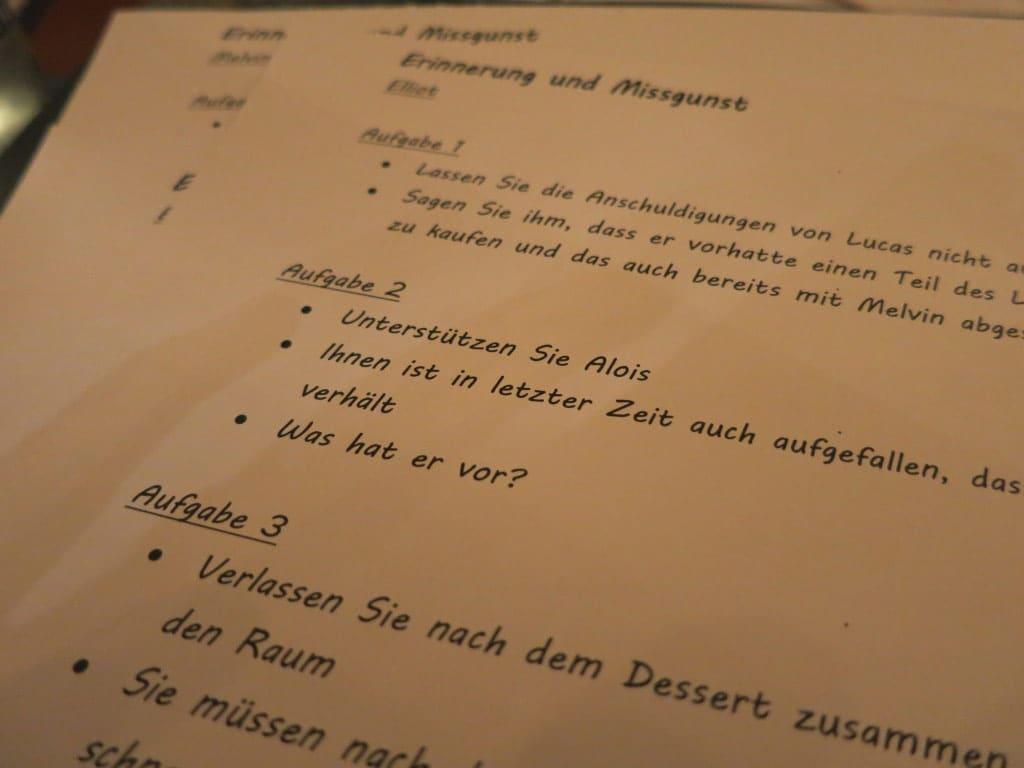 Nicht einfach ein Dinner: Mord am Weihnachtsabend - copyright: b-ceed GmbH