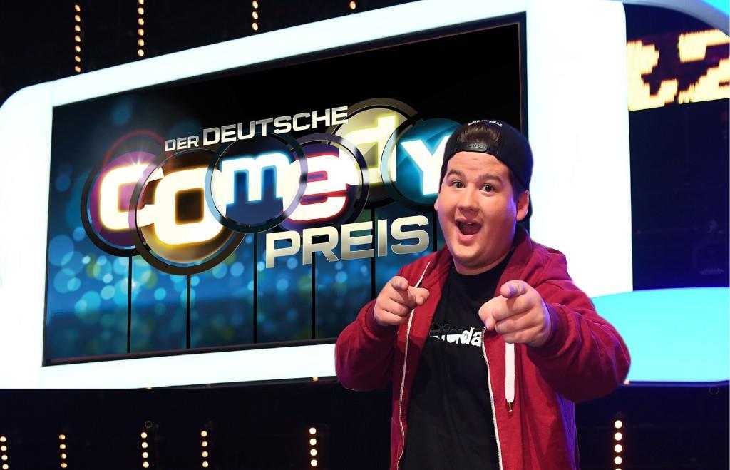 Comedian Chris Tall moderierte den Deutschen Comedypreis 2017 Foto: MG RTL D / Willi Weber