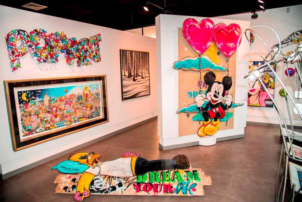 Kunst mitten in der City copyright: Galerie Mensing