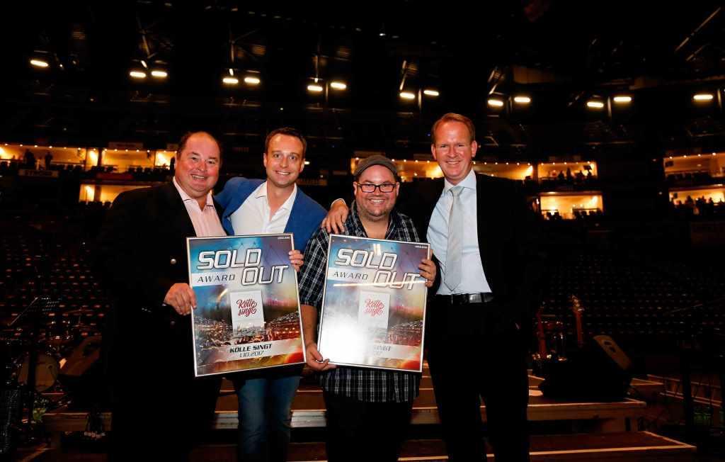 Mächtig stolz: Stephan Brandt, Lukas Wachten, Björn Heuser und Stefan Löcher (v.l.) copyright: Daniela Decker