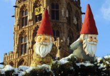 Die Heinzelmännchen sind überall in Köln zu finden. Wie auch hier beim Weihnachtsmarkt in der Altstadt. copyright: Weihnachtsmarkt Kölner Altstadt copyright: Heinzel GmbH