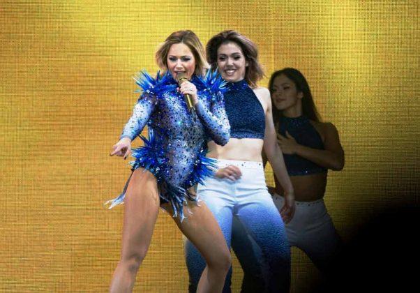 Auftritte von Megastars wie Helene Fischer sorgen für zahlreiche Besucher in der LANXESS arena Köln. copyright: CityNEWS / Alex Weis