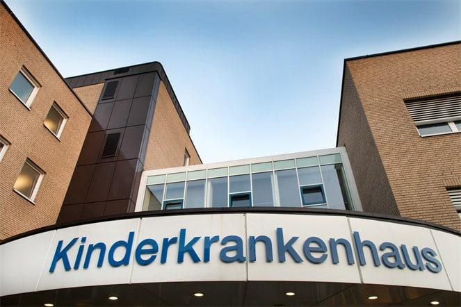 Das Kinderkrankenhaus Amsterdamer Straße in Köln Foto: Kliniken der Stadt Köln gGmbH