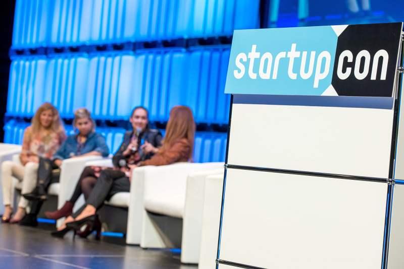Erfolgreiche vierte Vorstellung: Spannender Tag für Gründer zur StartupCon 2017 in der Kölner LANXESS arena copyright: StartupCon
