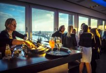 Up Cologne – Feiern mit 270-Grad-Panorama-Blick über die Domstadt copyright: Up Cologne über Event Inc