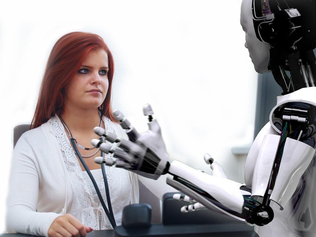 Roboter in der Pflege – für viele noch Horrorvision copyright: pixabay.com