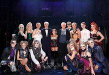 Die Rocky Horror-Cast mit Ensemble, Rayner Bourton und Erzähler Sky du Mont - © Patric Fouad