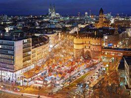 Das Nikolausdorf am Kölner Rudolfplatz ist ein Weihnachtsmarkt für die ganze Familie. copyright: Dieter Jacobi / KölnTourismus GmbH