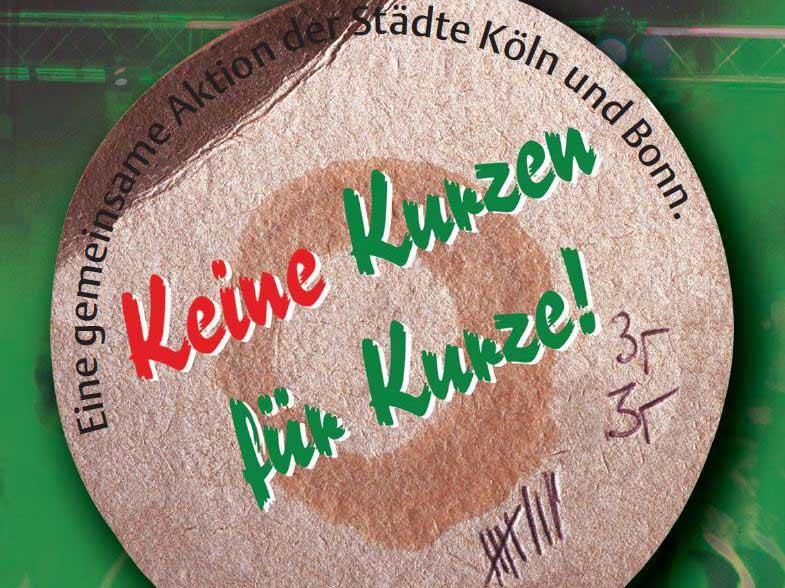 Keine Kurzen für Kurze copyright: Stadt Köln