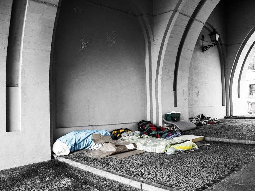 Obdachlosen soll ein zusätzlicher Schutz vor Kälte und Nässe ermöglicht werden. copyright: pixabay.com