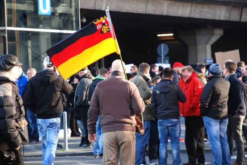Polizei geht gegen rechtsextreme Hooligans am Ebertplatz in Köln vor copyright: CityNEWS / Laudenberg (Archivbild)