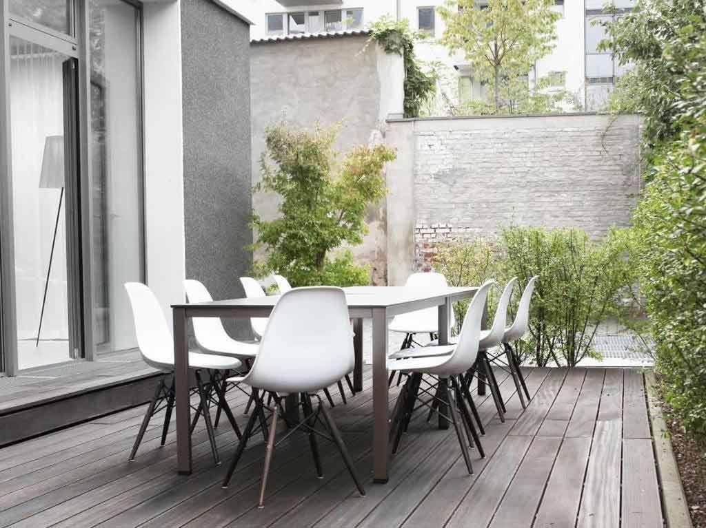 Auch eine Terrasse ist in der Event-Location vorhanden. copyright: Gastraum in der Alten Zigarrenfabrik über Event Inc