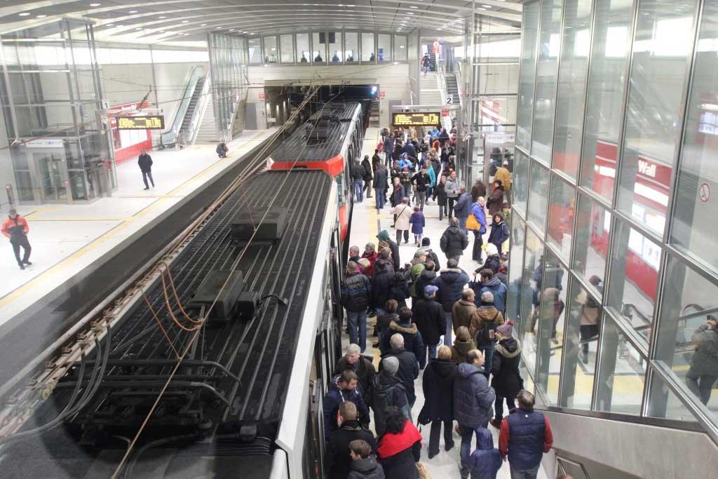 Die KVB rechnet mit vielen Fahrgästen an Silvester 2018 in Köln. copyright: Kölner Verkehrs-Betriebe