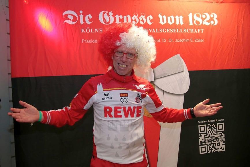 Österreicher Peter Stöger fühlte sich in Köln sichtlich wohl. copyright: CityNEWS / Thomas Pera