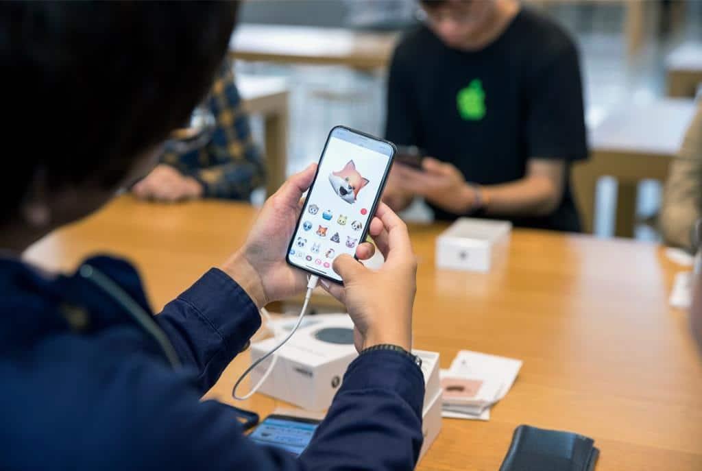 Seit November 2017 ist das neue iPhone X von Apple auf dem Markt. copyright: Apple Inc.