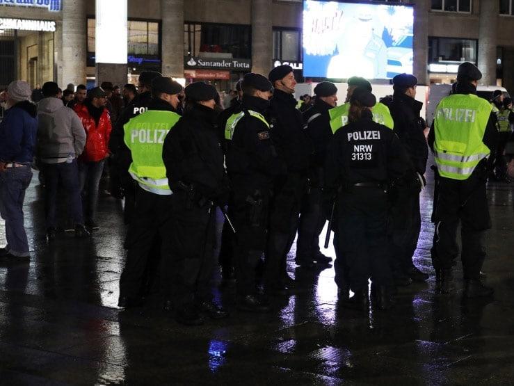 Das Einsatzkonzept mit einer niedrigen Einschreitungsschwelle der Kölner Polizei funktionierte. copyright: CityNEWS / Thomas Pera
