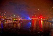 Auch auf dem Rhein lässt es sich ins neue Jahr feiern. copyright: CityNEWS / Thomas Pera