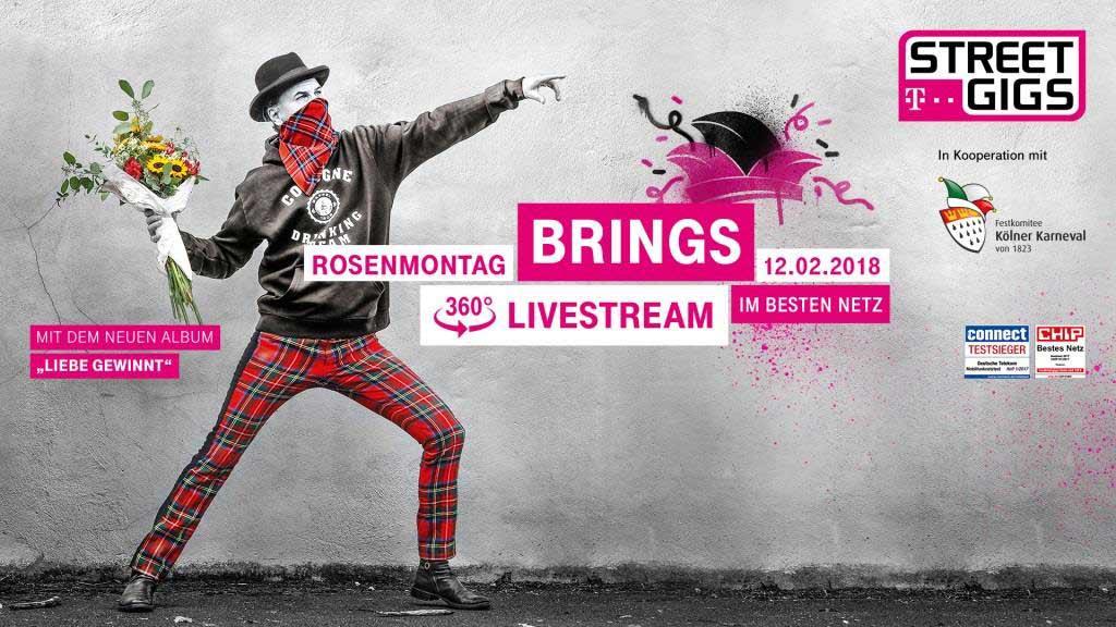 CityNEWS verlost Tickets zum Telekom Street Gig Konzert von Brings mit Meet & Greet copyright: PR
