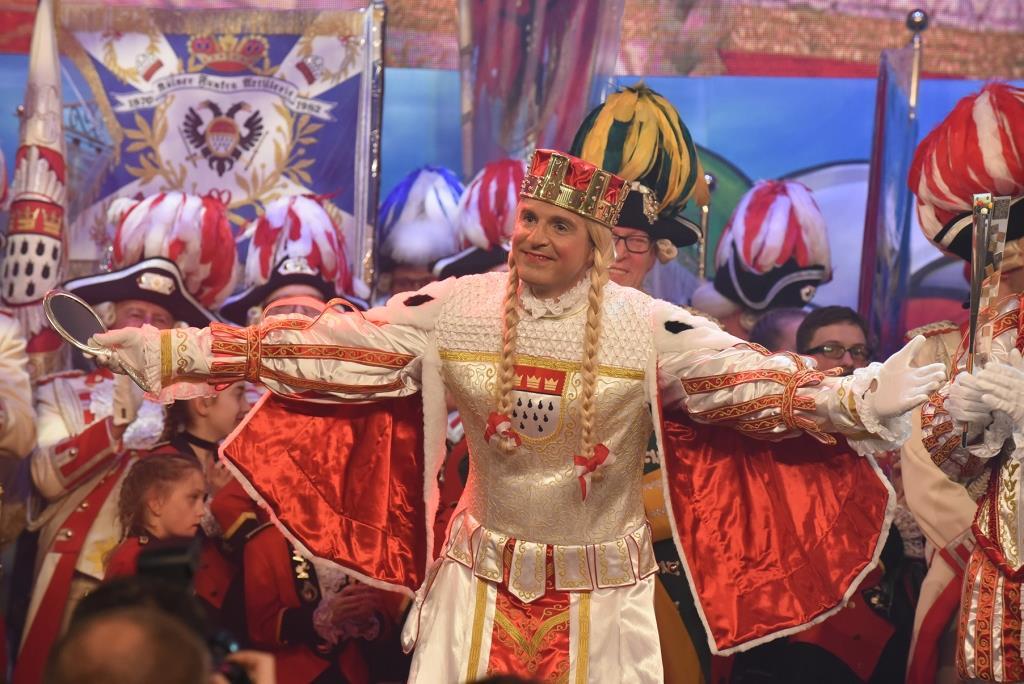 Kölner Jungfrau copyright: Festkomitee Kölner Karneval