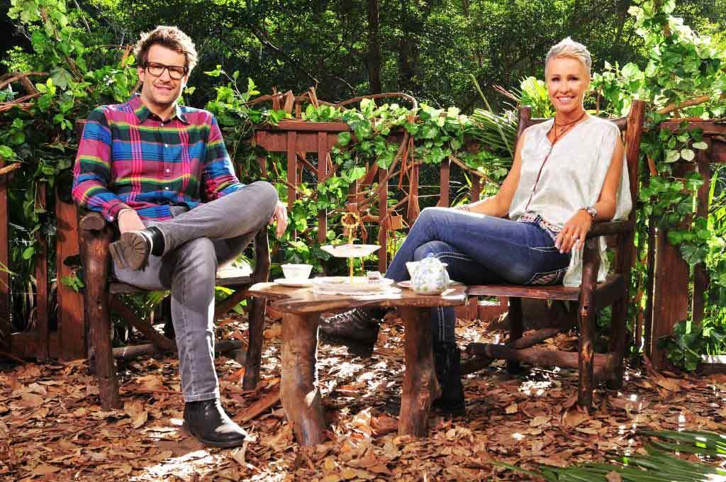 Im Interview verraten Sonja Zietlow und Daniel Hartwich Geheimnisse, Hintergrundinfos und Geschichten rund um das Dschungelcamp. Foto: MG RTL D / Stefan Menne