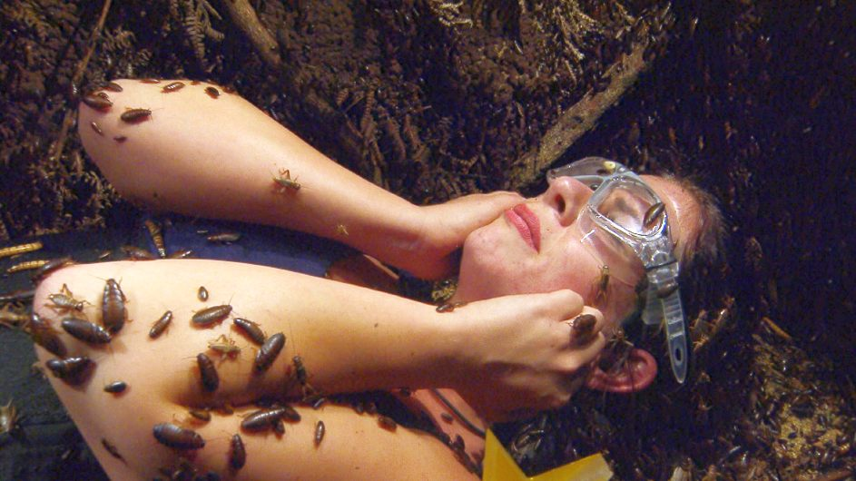 Es ergießen sich immer mehr Kakerlaken in Jennys Schlafzimmer. Foto: MG RTL D Alle Infos zu 'Ich bin ein Star - Holt mich hier raus!' im Special bei RTL.de