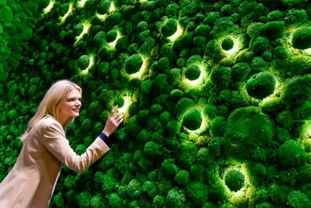 Die Wohnwelten werden grüner, organischer, dynamischer und natürlicher. Foto: Koelnmesse GmbH / Thomas Klerx