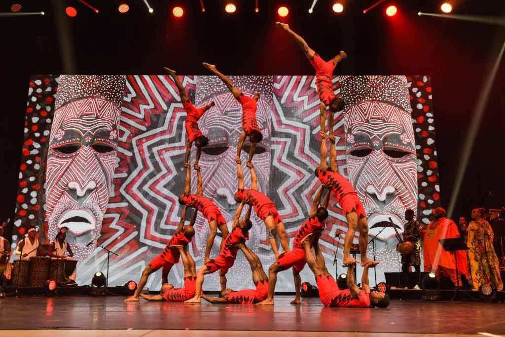 Bei AFRIKA! AFRIKA! gibt es zahlreiche Show-Acts die beim Publikum für Staunen sorgen werden. copyright: Nilz Böhme