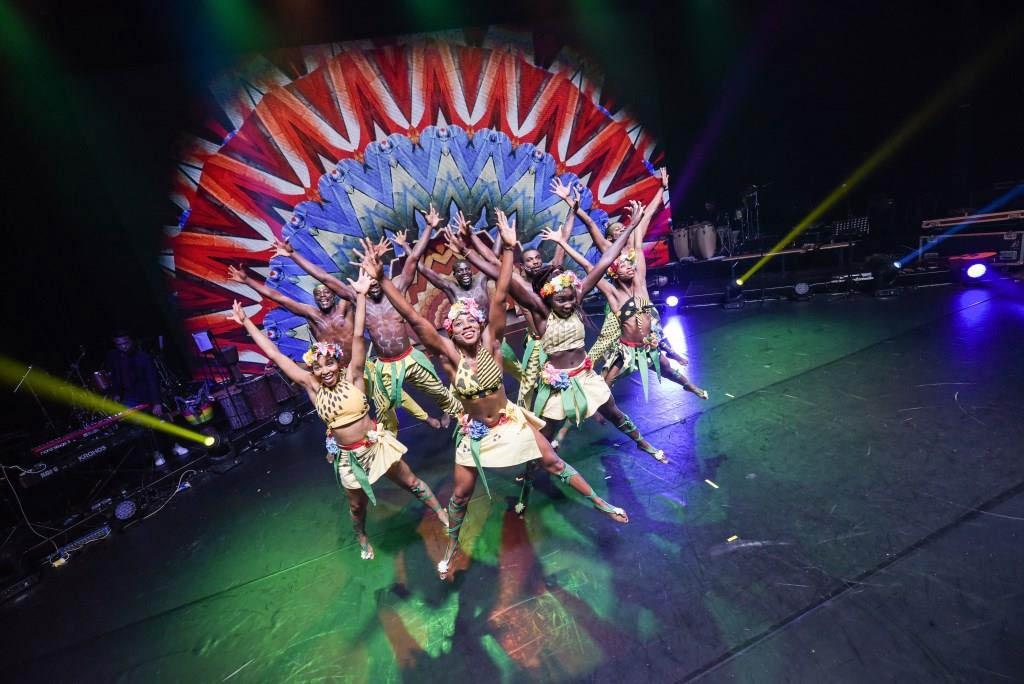 Tanz durch die afrikanischen Epochen und Kulturen copyright: Nilz Böhme