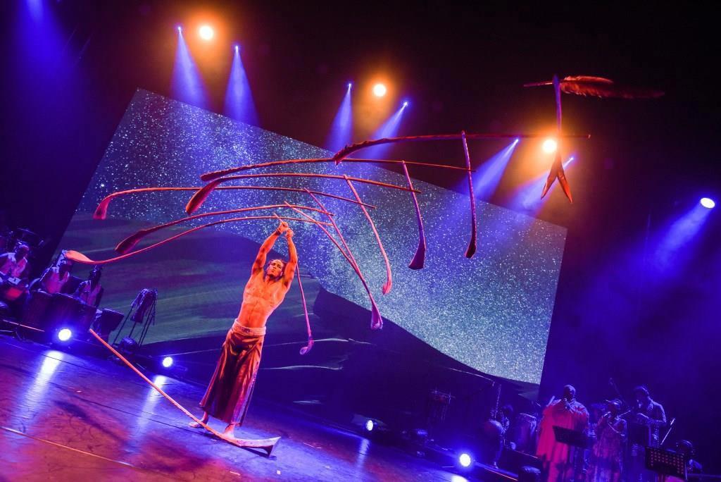 Bei AFRIKA! AFRIKA trifft Talent auf Temperament copyright: Nilz Böhme