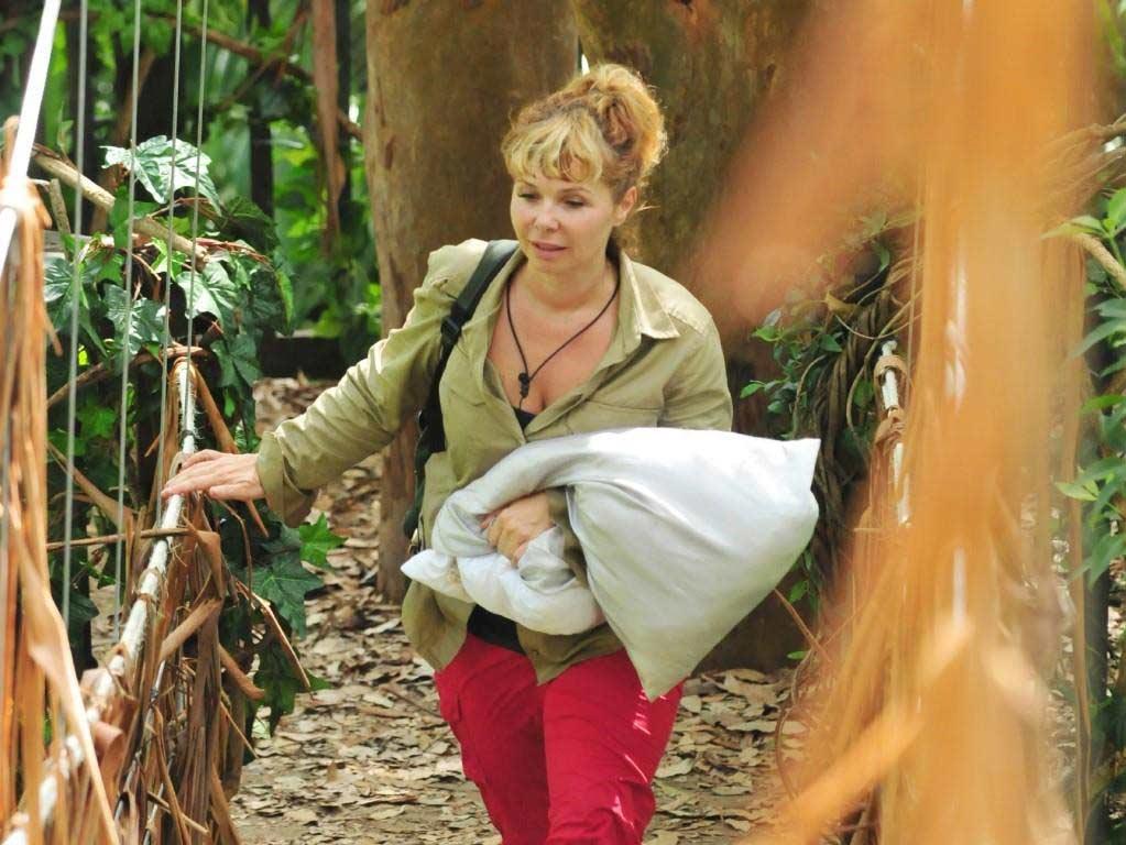 Sandra Steffl wurde von den Zuschauern aus dem Dschungelcamp 2018 gewählt. Foto: MG RTL D / Stefan Menne Alle Infos zu 'Ich bin ein Star - Holt mich hier raus!' im Special bei RTL.de