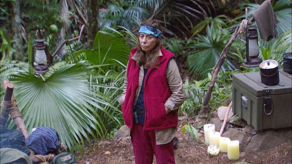 Wird Schlagersängerin Tina York zum Favoriten vom Dschungelcamp 2018? Foto: MG RTL D Alle Infos zu 'Ich bin ein Star - Holt mich hier raus!' im Special bei RTL.de