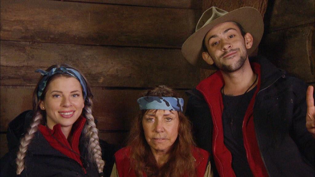Im Finale vom Dschungelcamp 2018 sind Jenny Frankhauser, Tiny York und Daniele Negroni. Foto: MG RTL D Alle Infos zu 'Ich bin ein Star - Holt mich hier raus!' im Special bei RTL.de